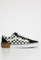 Vans - Old skool checkerboard sneakers - black & white