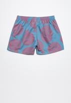 Lizzard - Fruitster board shorts  - blue & purple