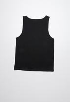 Lizzard - Fabiano printed vests - black