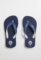 World Tribe - Ultimate junior flip flops - navy
