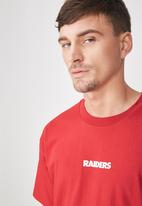 Cotton On - Downtown loose fit tee - red