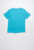 Lizzard - Vegas printed tee - blue