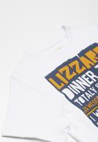 Lizzard - Jawsome printed tee - white