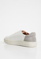 ONLY - Sage flower sneakers - off white