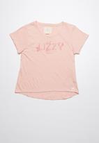 Lizzy - Elisa printed tee - pink