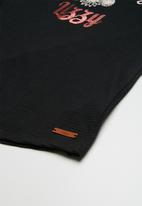 Lizzy - Dalila printed tee - black