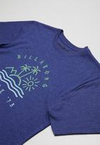 Billabong  - Stuff printed tee - blue