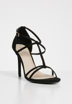 STYLE REPUBLIC - Strappy heels - black