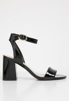 ALDO - Ankle strap sandal - black