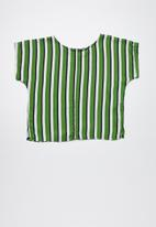 Superbalist - Woven boxy top - green