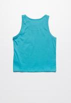 Lizzard - Odion printed vest - blue