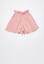 Superbalist - Paperbag shorts - pink