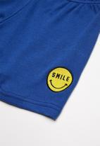 Superbalist - Summer sweat shorts - blue