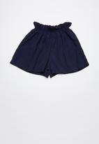 Superbalist - Paperbag shorts - navy