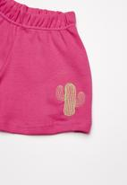 Superbalist - Summer sweat shorts - pink