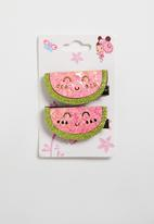 POP CANDY - Watermelon hairclips - multi