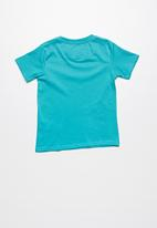 Lizzard - Griffith printed tee - blue
