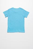 Lizzard - Gardener printed tee - blue
