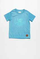 Lizzard - Hendryx Printed Tee Blue
