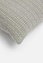 Sixth Floor - Waffle cushion cover - grey