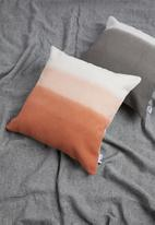 Sixth Floor - Ombre cushion cover - rust