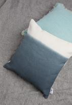 Sixth Floor - Ombre cushion cover - blue