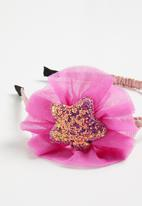 POP CANDY - Headband with star detail - pink