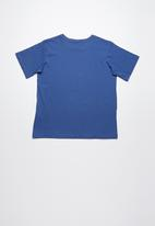 Volcom - Harsh fade tee - blue