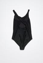 Rip Curl - Teen retro one piece swimsuit - black