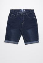 Twin Clothing - Denim shorts - mid blue