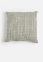 Sixth Floor - Waffle cushion cover - grey