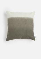 Sixth Floor - Ombre cushion cover - grey