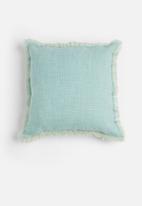 Sixth Floor - Slub cushion cover - blue