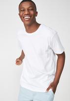 Cotton On - Essential skate tee - white