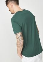 Cotton On - Essential henley tee -  green