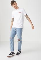 Cotton On - Tbar short sleeve tee - white
