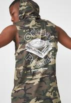 Cotton On - Hustle muscle tank - green