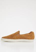 Base London - Clipper suede - tan
