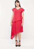 Leigh Schubert - Empire state dress -  pink