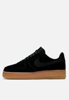 Nike - Air Force 1 '07 SE - black & gum brown