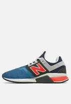 New Balance  - 247 V2 Heritage brights - Blue