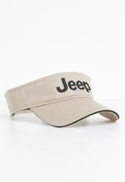 JEEP - Basic peak cap - neutral