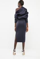 DAVID by David Tlale - Makeba spectacular dress - navy