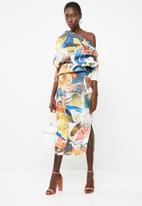 DAVID by David Tlale - Makeba spectacular dress - multi-colour