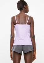 New Look - Je nais sais pas pyjama short set - purple & grey