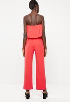 STYLE REPUBLIC - Bardot Jumpsuit - pink