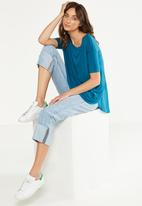 Cotton On - Lara spliced summer top - blue