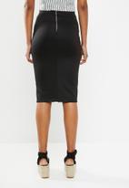 Superbalist - Midi bodycon skirt - black