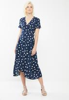 ONLY - Manga maxi dress - navy