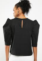 Superbalist - Structured blouse - black